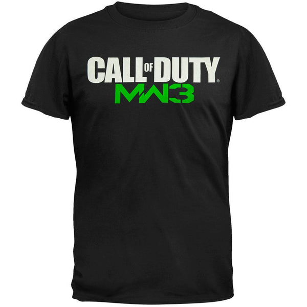 Call of Duty - MW3 Logo Black T-Shirt