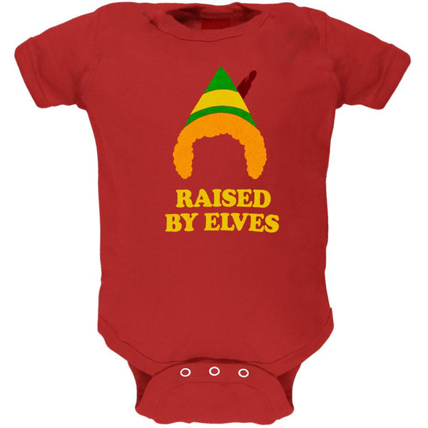 Elf - Raised By Elves Baby One Piece