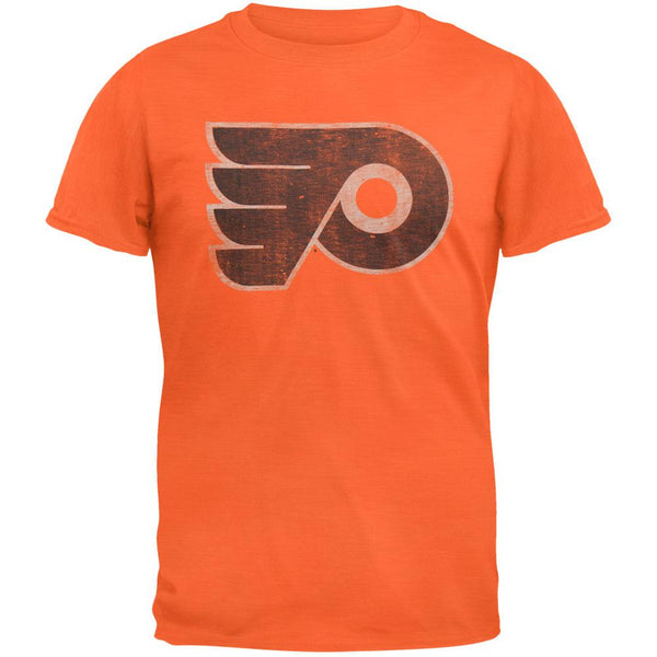 Philadelphia Flyers - Logo Scrum Premium Orange T-Shirt