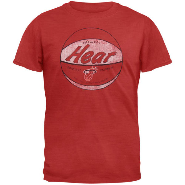 Miami Heat - Logo Scrum Premium T-Shirt
