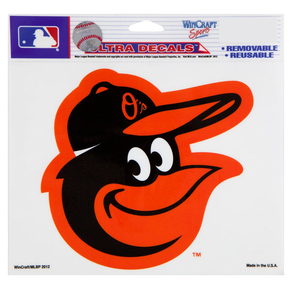 "Baltimore Orioles - Die Cut Full Color Decal 5.5"" x 6"""