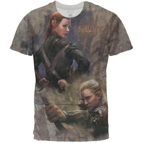 The Hobbit - Elves All Over T-Shirt