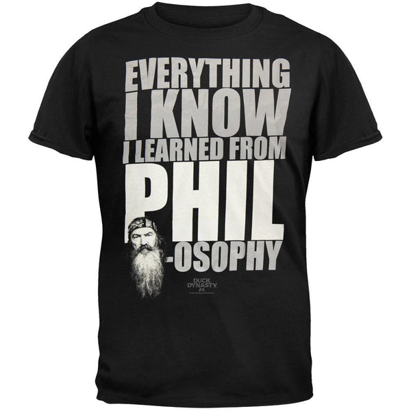 Duck Dynasty - Phil-Osophy T-Shirt