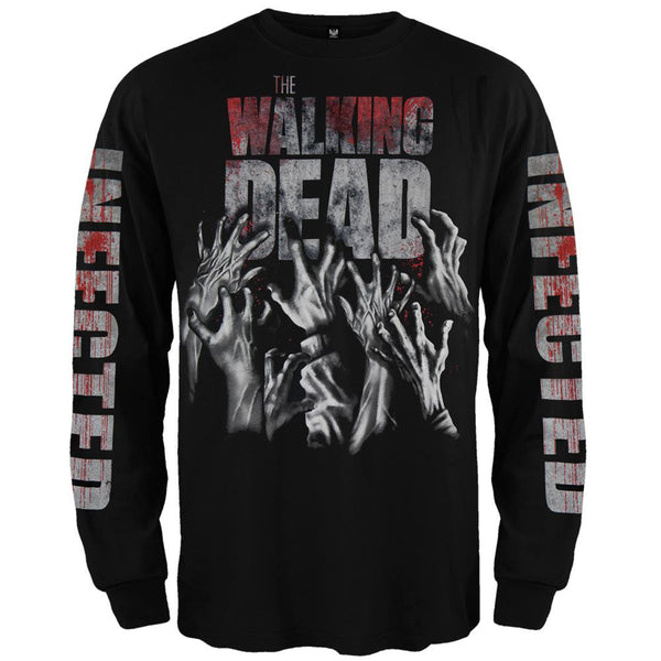 Walking Dead - Infected Hands Long Sleeve T-Shirt