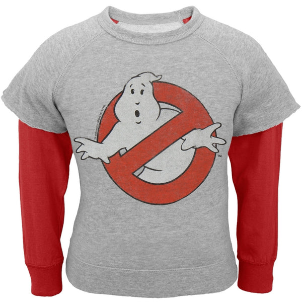 Ghostbusters - Ghost Slime Infant Reversible Crewneck Sweatshirt