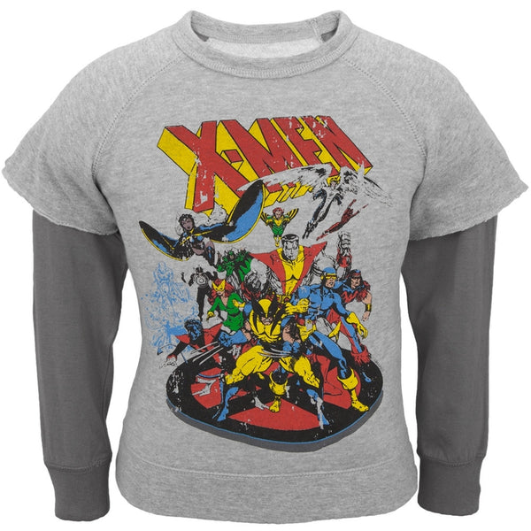 X-Men - Wolverine and Friends Youth Reversible Crewneck Sweatshirt