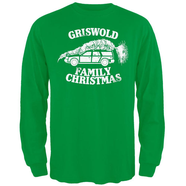 Christmas Vacation - Griswold Family Christmas Green Long Sleeve T-Shirt