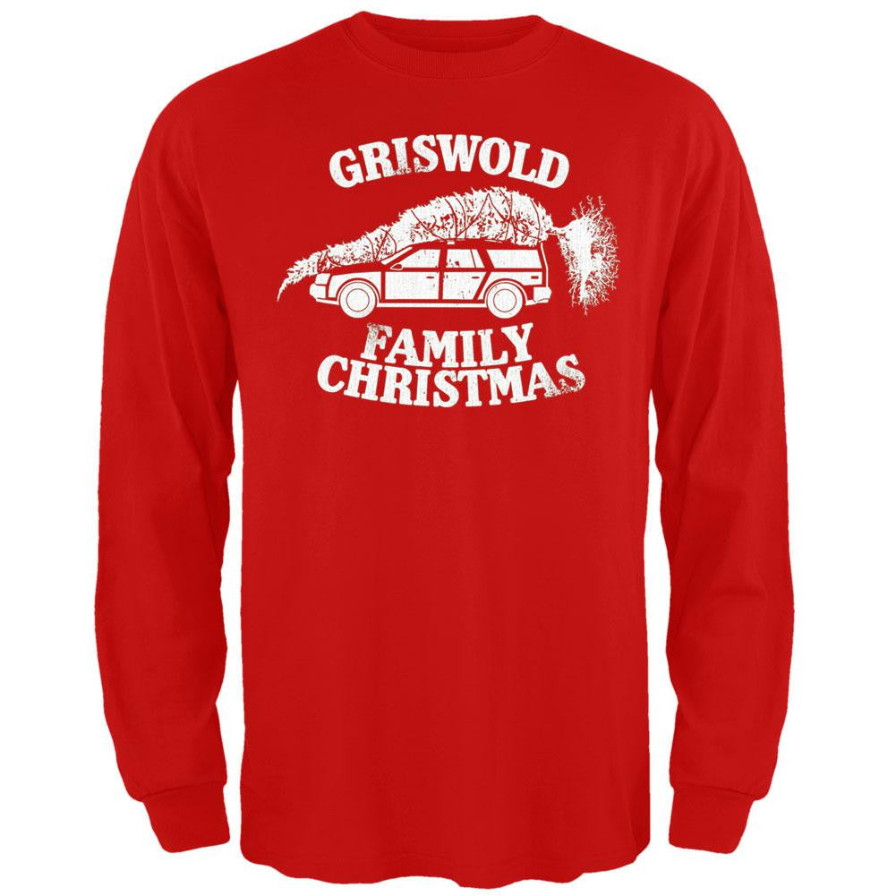 christmas vacation griswold family christmas long sleeve t shirt