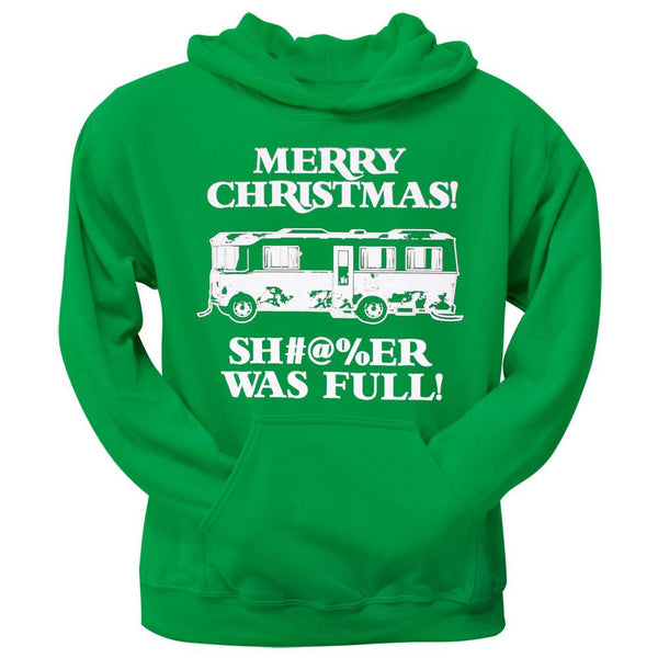 Christmas Vacation - Shitter Was Full Green Pullover Hoodie