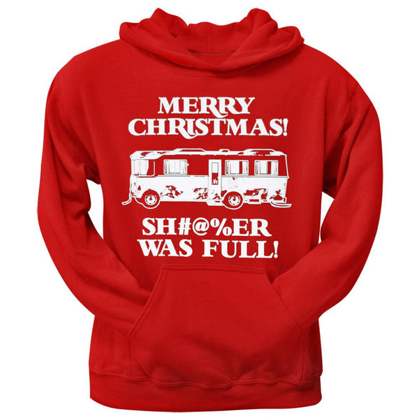 Christmas Vacation - Shitter Was Full Red Pullover Hoodie