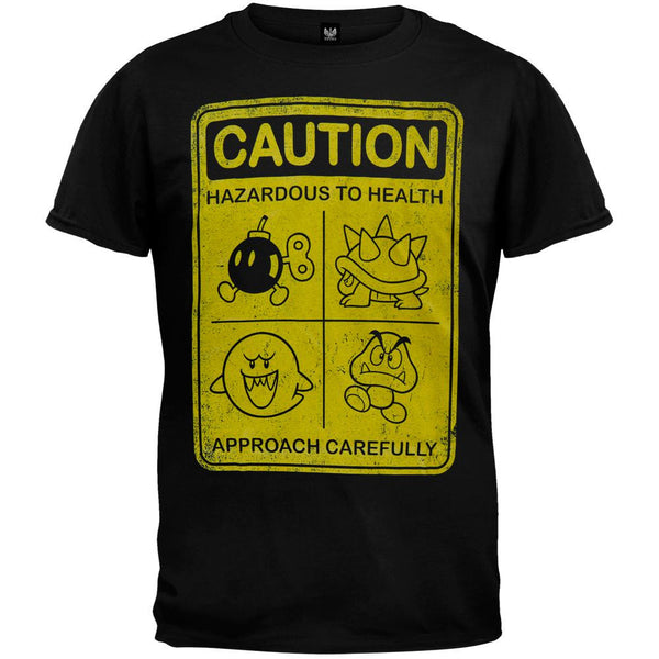 Nintendo - Caution T-Shirt