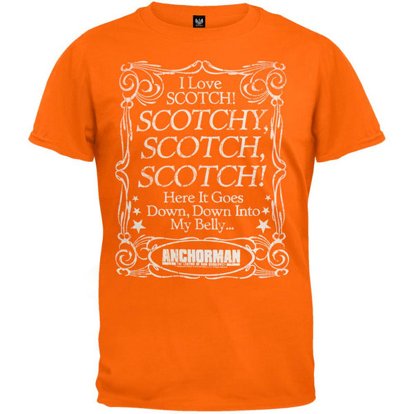 Anchorman - Scotch Belly T-Shirt