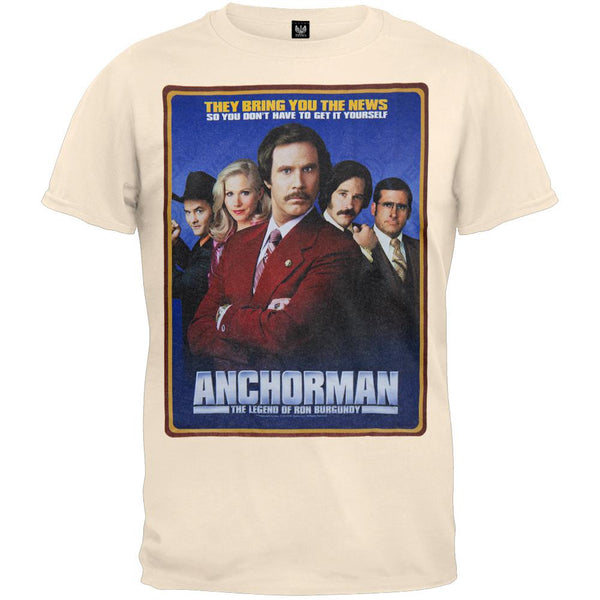 Anchorman - Classic Poster T-Shirt