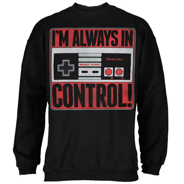Nintendo - Always in Control Crewneck Sweatshirt