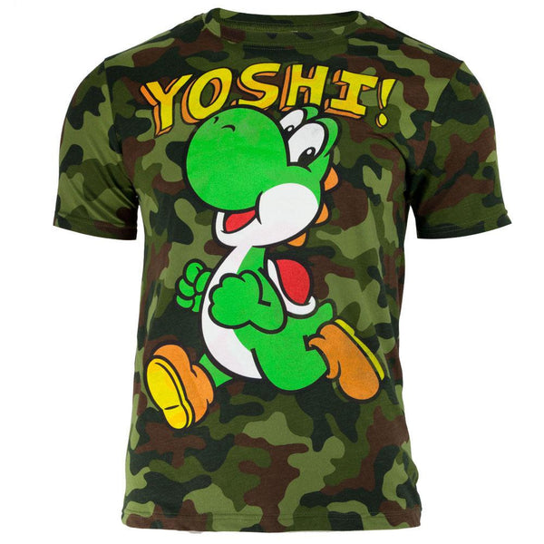 Nintendo - It's Yoshi Camo Adult T-Shirt