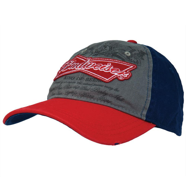 Budweiser - Can Script Logo Adjustable Cap