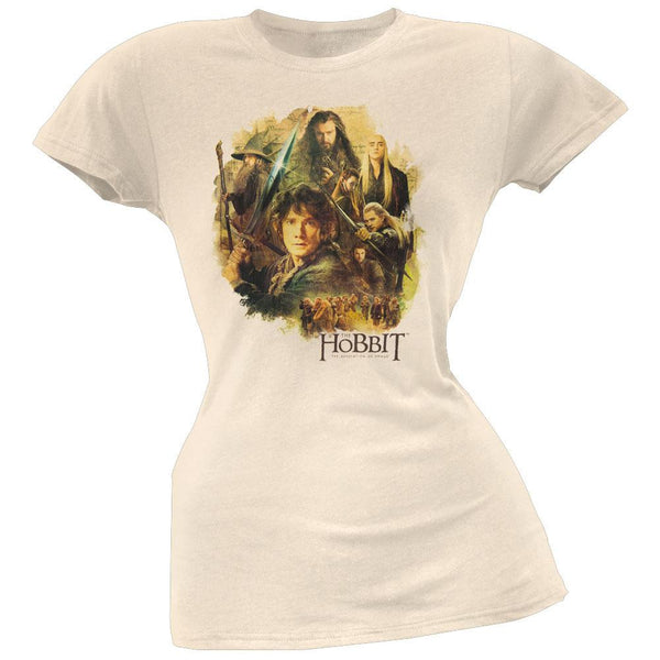 The Hobbit - Collage Juniors T-Shirt