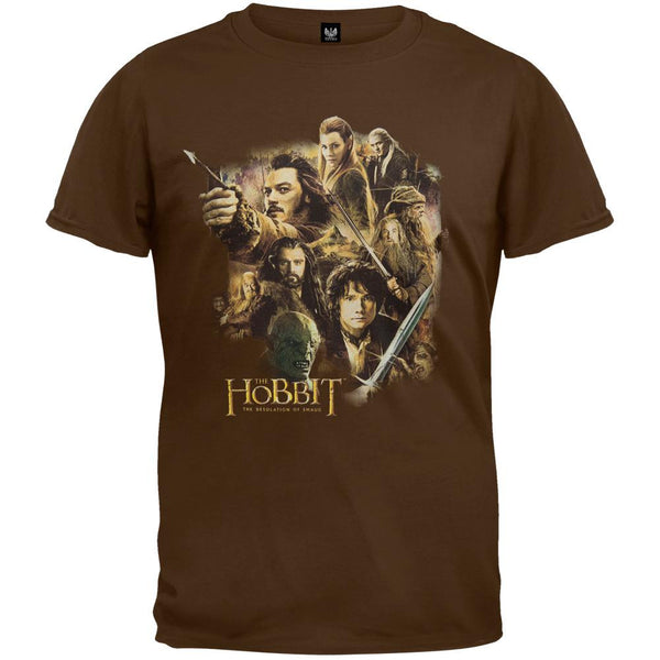 The Hobbit - Middle Earth Cast T-Shirt