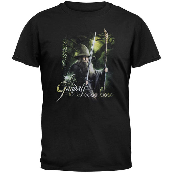 The Hobbit - Gandalf Sword & Staff Youth T-Shirt