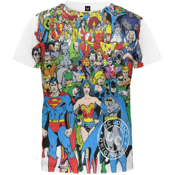 DC Comics - Original Universe All Over T-Shirt