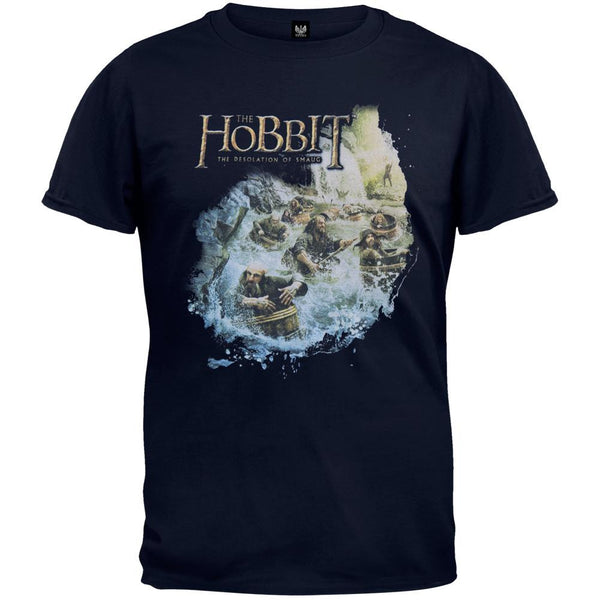 The Hobbit - Barreling Down T-Shirt