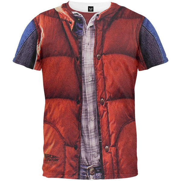 Back to the Future - McFly Vest All Over T-Shirt