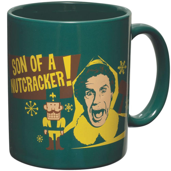 Elf - Son of a Nutcracker Green Coffee Mug