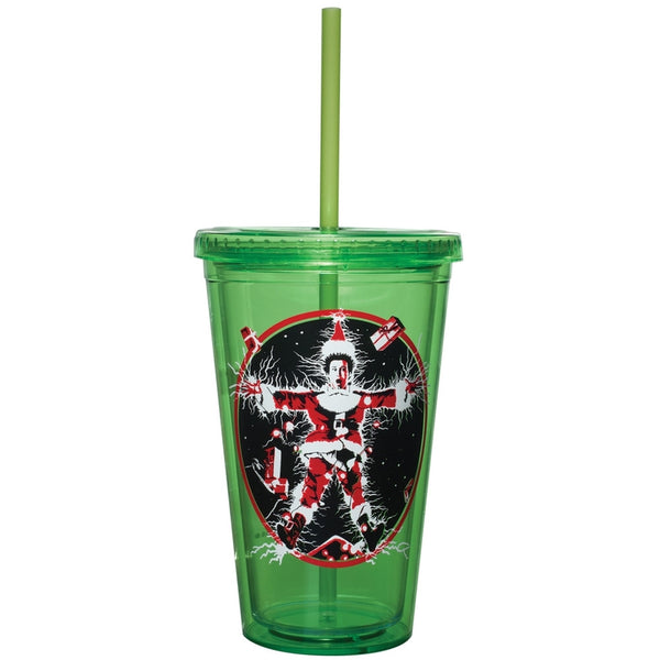 Christmas Vacation - Movie Poster Acrylic Tumbler With Straw