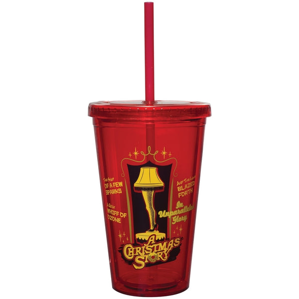 A Christmas Story - Leg Lamp Acrylic Tumbler With Straw