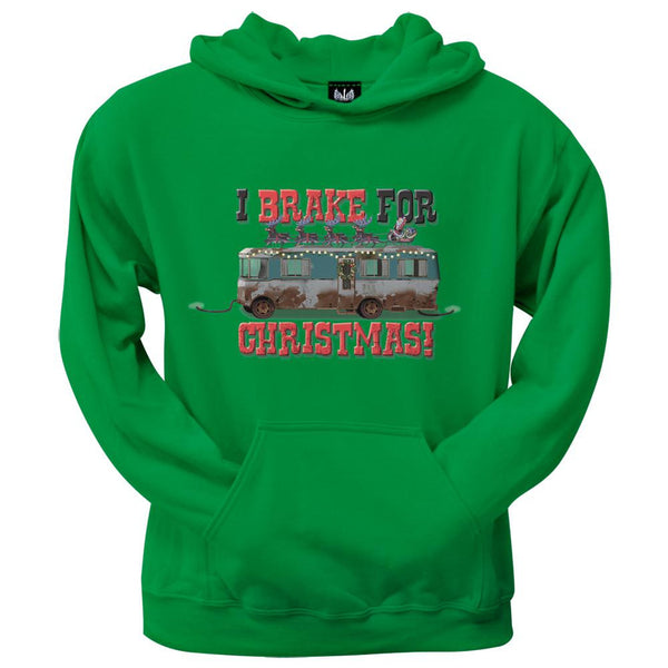 Christmas Vacation - I Brake For Christmas Pullover Hoodie