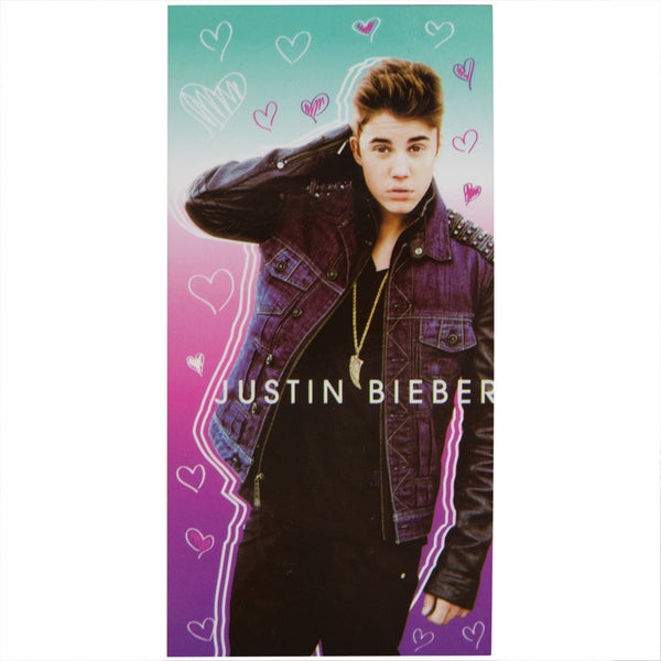 Justin Bieber - Heart Frenzy Beach Towel