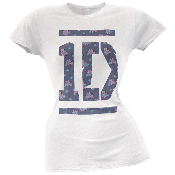 One Direction - Floral Tee Juniors T-Shirt