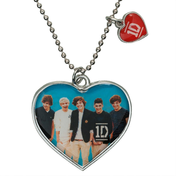 One Direction - Group Heart Necklace