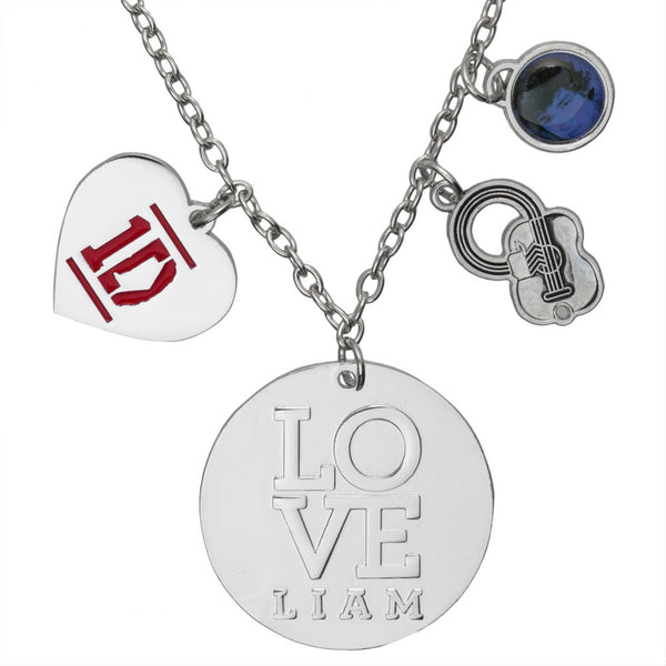 One Direction - Heart Liam Charm Necklace
