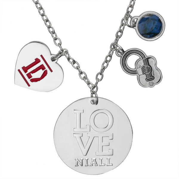 One Direction - Heart Niall Charm Necklace