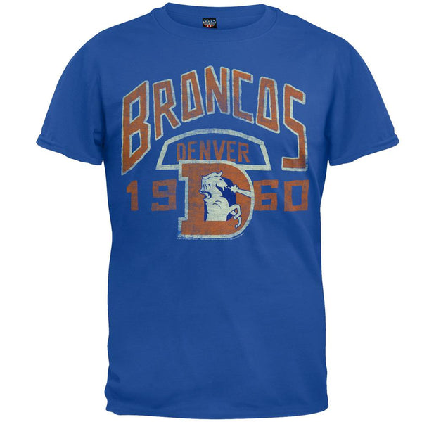 Denver Broncos - Kick-Off Soft Blue T-Shirt