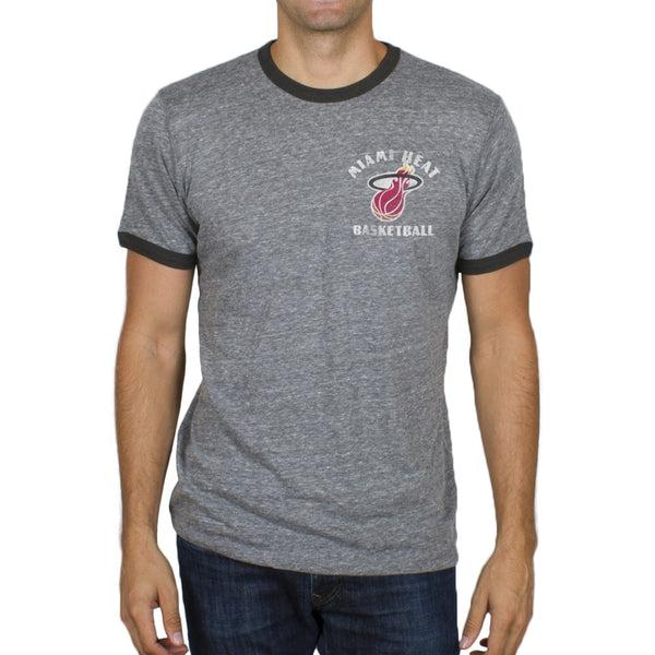 Miami Heat - Turnover Tri-Blend Soft Ringer T-Shirt