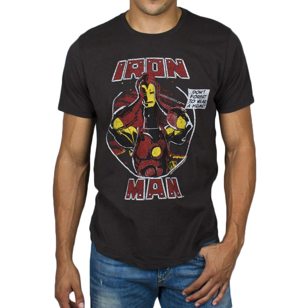 Iron Man - Don't Forget To Wear A Helmet Soft T-Shirt