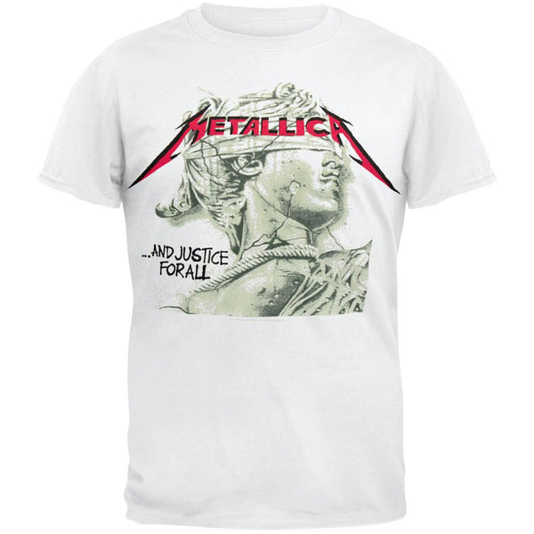 Metallica - Justice Green Chrome Statue T-Shirt