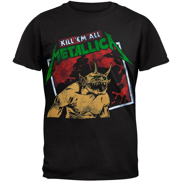 Metallica - Kill 'Em All Tilted Frame T-Shirt