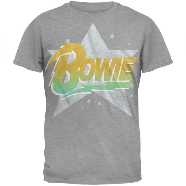David Bowie - Star Logo Soft T-Shirt