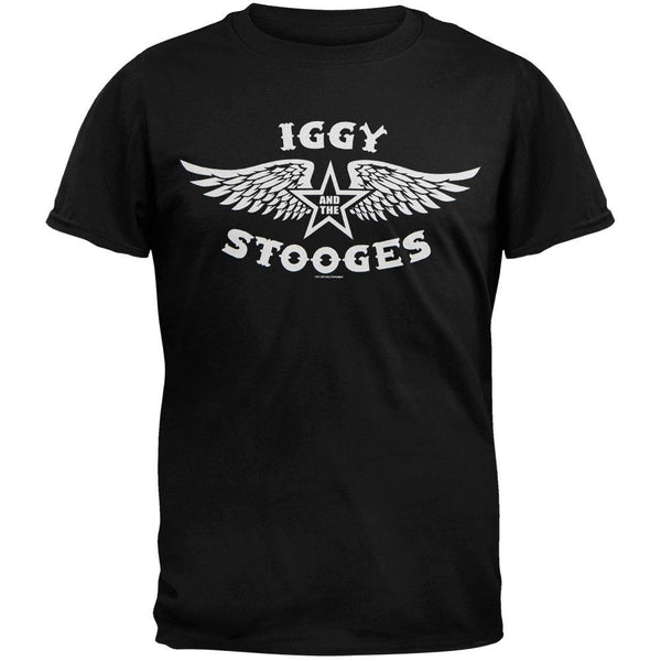 The Stooges - Wing Logo T-Shirt