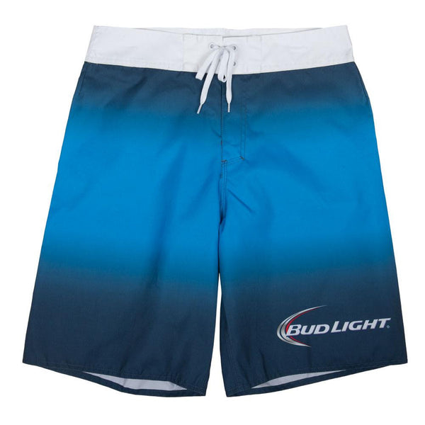 Bud Light - Logo Blue Ombre Board Shorts