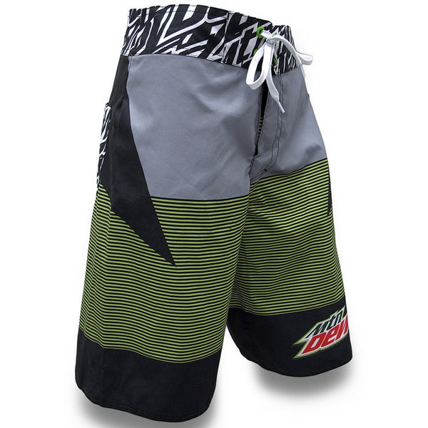 Mountain Dew - Logo Repeat Print Board Shorts