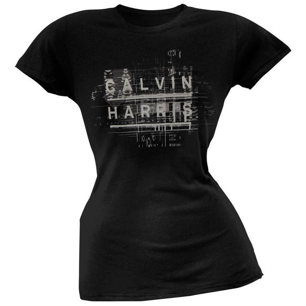 Calvin Harris - Name Logo Soft Juniors T-Shirt