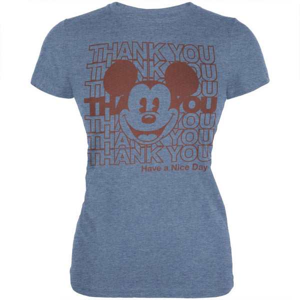 Mickey Mouse - Have A Nice Day Juniors T-Shirt