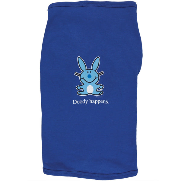 Happy Bunny - Doody Happens Doggy T-Shirt
