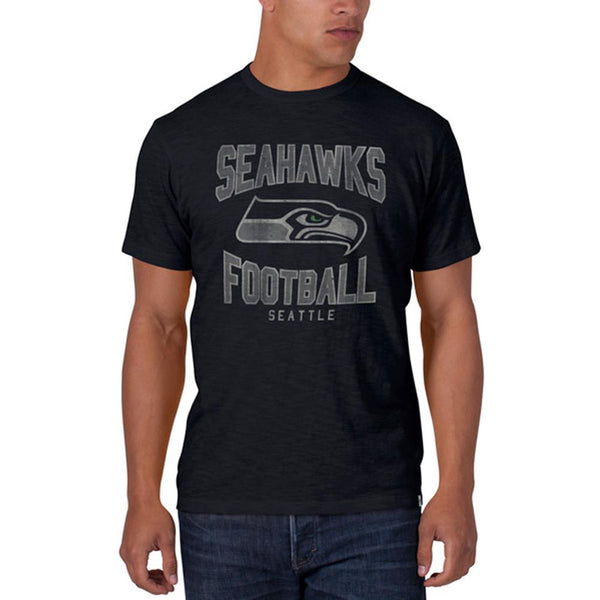 Seattle Seahawks - Logo Scrum Premium T-Shirt