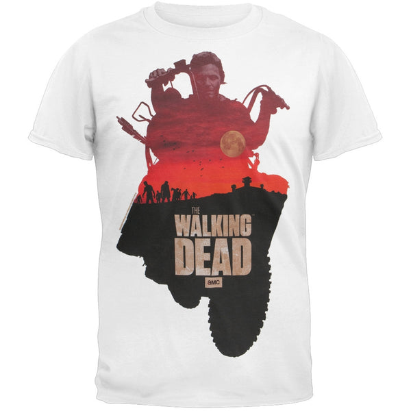 Walking Dead - Daryl Sunset Adult T-Shirt