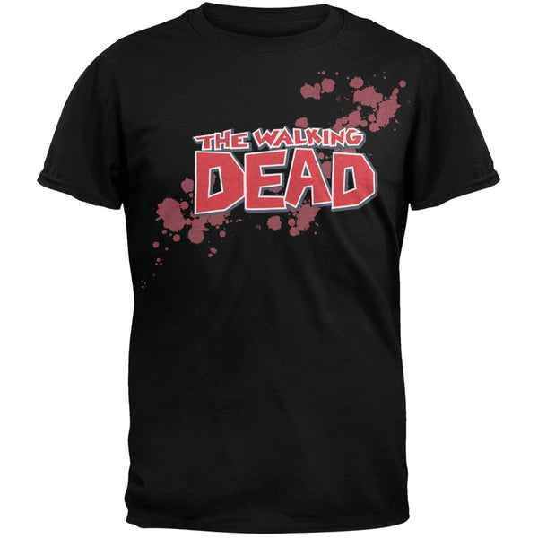 The Walking Dead - Blood Logo Soft T-Shirt